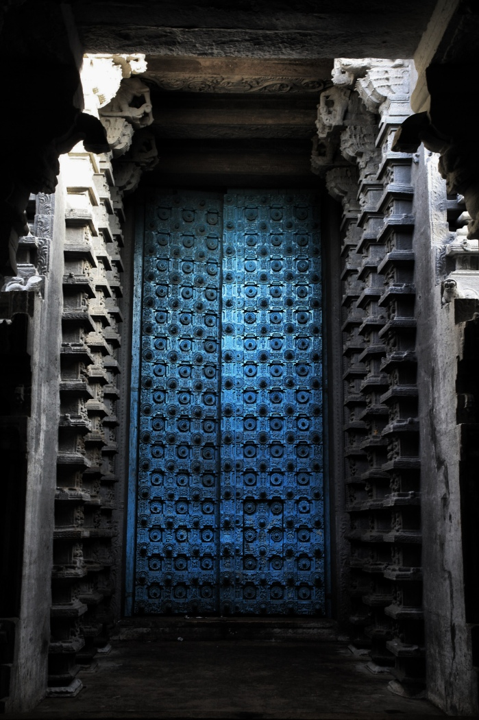 Massive Blue Door