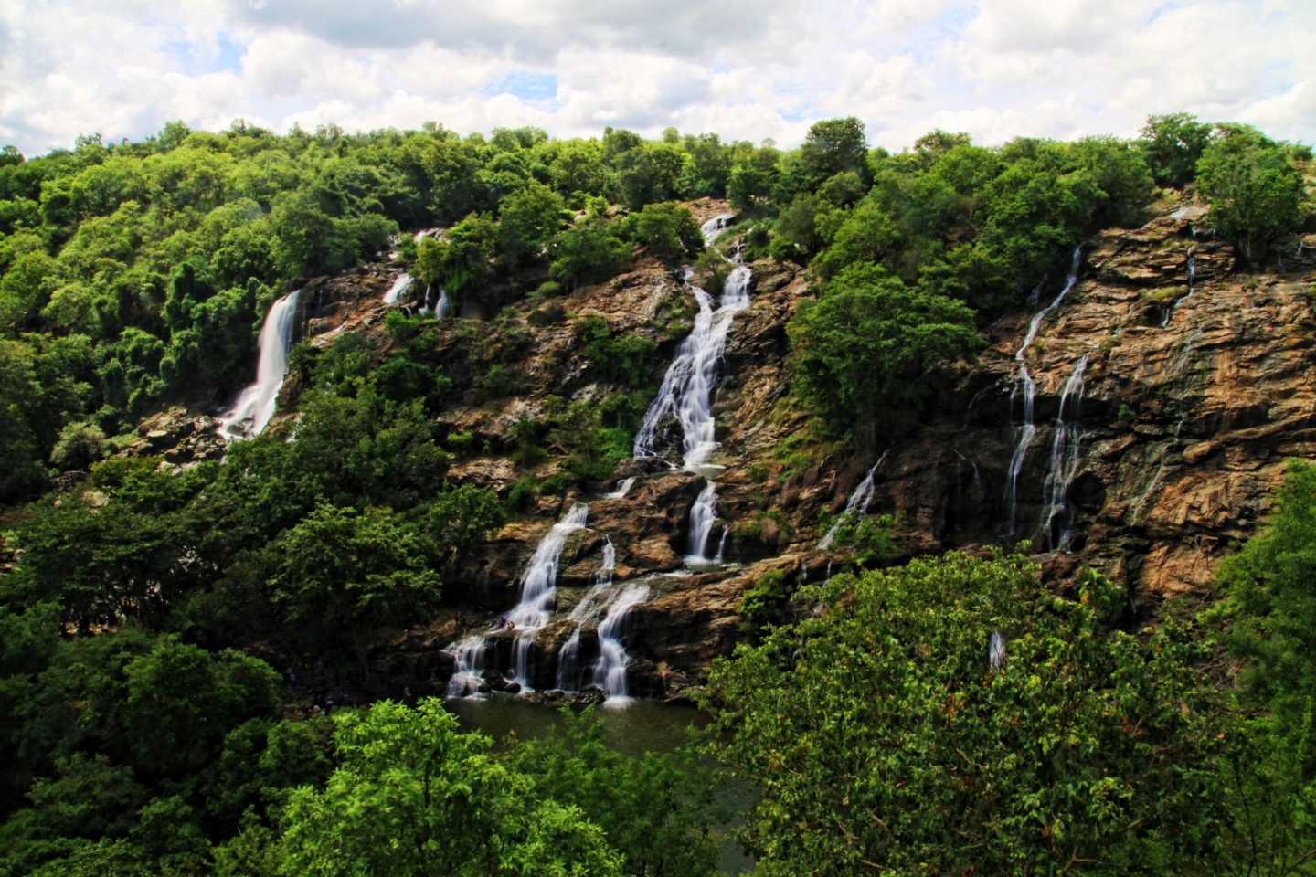 SHIVANASAMUDRA , India , Waterfalls , Old Bridge , Bangalore , Trip , Karnataka, travel blog